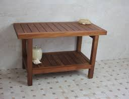 Teak Benches For Showers Aqua Teak Spa Teak Shower Bench U0026 Reviews Wayfair