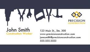 Cards Design Online Construction Business Cards Design Custom Business Cards For Free