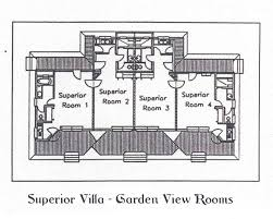 esmeralda resort deluxe villa floor plan diagram map