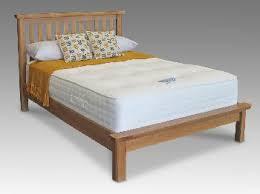 King Size Oak Bed Frame by Honey B Manhattan King Size Oak Bed Frame King Size Wooden Beds