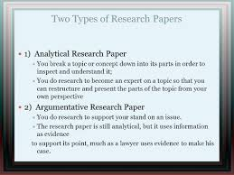 writing of research paper writing a research paper ppt video online download two types of research papers