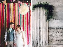 Wedding Wall Decor 31 Best Wedding Wall Decoration Ideas Everafterguide