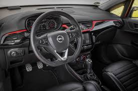 vauxhall corsa 2017 interior opel pressroom europe photos