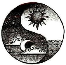 yin yang sun moon s yin yang moon and