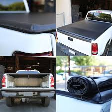 Ford Ranger Truck Bed Cover - 11 ford ranger flareside 6 ft bed soft vinyl trunk roll up tonneau
