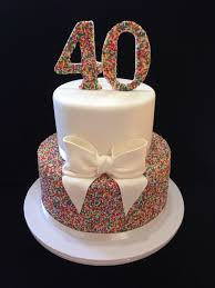 cake for 40th birthday cakes wtag info