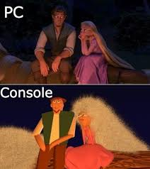 Pc Gamer Meme - pc vs console games gaming videogames pcgames https www