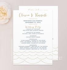 design wedding programs wedding programs mallory design