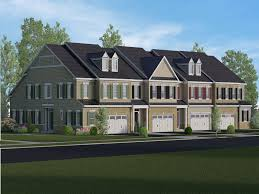 New House Floor Plans The Reserve At Rose Tree New Townhomes In Media Pa 19063