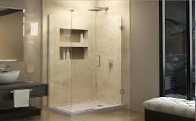bathroom nice bathroom design with hinged dreamline shower doors