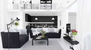 black and white living room furniture 30 black white living rooms that work their monochrome magic
