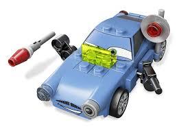 fin mcmissile finn mcmissile lego cars set 9480