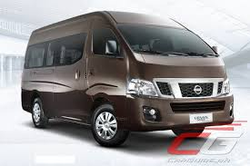 nissan philippines confirms we are bringing in the urvan a t