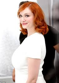 hair colours best for women in their sixties christina hendricks returns to her natural colour for clairol s