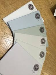 a selection of six gray paints by farrow u0026 ball left to right