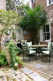 style courtyards vintage style courtyard in summer backyard flower