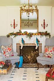 our favorite living rooms decorated for christmas southern living