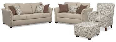 the mckenna sleeper living room collection sand value city