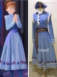 Anna Frozen Costume Custom Olaf U0027s Frozen Adventure Anna Dress Anna Costume Anna