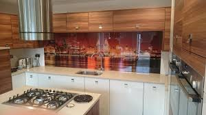 Splashback Ideas For Kitchens Printed Glass Splashbacks For Kitchens Colour 2 Glass