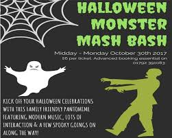 Halloween Monster Mash by Halloween Monster Mash Bash In Swansea Bay Mumbles And Gower