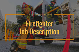 Firefighter Job Description For Resume by Firefighter Job Description And Duties