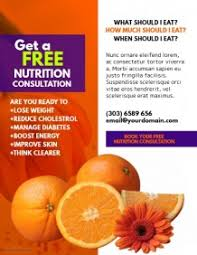 nutrition brochure template customizable design templates for nutrition postermywall