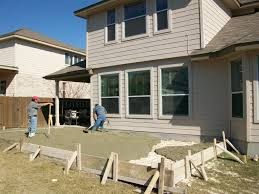 How To Level Ground For A Patio by Concrete Patios Easter Concrete Construction Our Work Easter