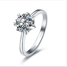 aliexpress buy 2ct brilliant simulate diamond men 1ct solid 14k gold snow solitaire consummate simulate diamond