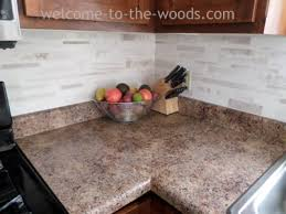 how to install tile backsplash kitchen faux tile backsplash with paint hometalk