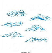 blue martini clip art free wave border clip art 47