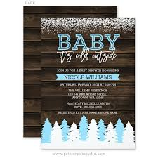 baby it s cold outside baby shower baby it s cold outside winter snow boy baby shower invitations
