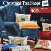 christmas tree shops flyer