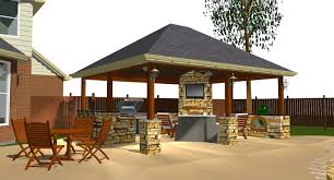 Outdoor Kitchen Pavilion Designs by Decks And Patios Ideas Here Is Another View Capable Through Our