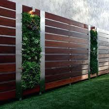 Garden Fence Ideas Design Cool Fence Ideas Impressive Modern Fence Design Design With Dining