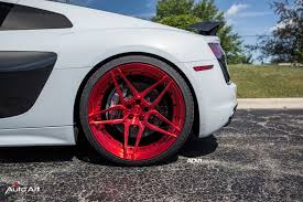 Audi R8 White - white audi r8 v10 adv05s m v2 cs concave wheels adv 1 wheels