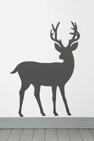 185 best wall stencil patterns images on pinterest wall stencil deer wall decal for boys room