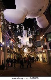 carnaby street london christmas lights 2014 stock photo royalty