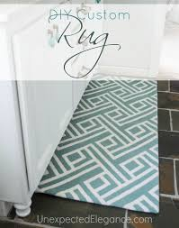 Teal Floor Rug Diy Custom Rug Modify A Rug To Fit Any Space Unexpected Elegance