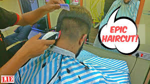 amazing fade haircut by indian barber asmr 4k how to