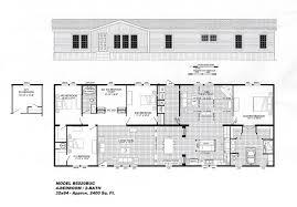 4 bedroom floor plan b 6020 hawks homes manufactured