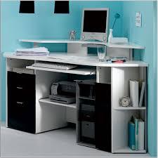 Simple White Desk by White Corner Desks For Home Artenzo