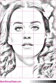 how to draw katy perry draw famous faces