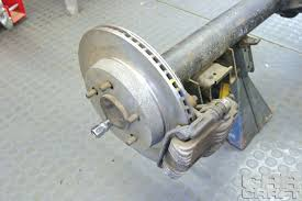 Old Ford Truck Brake Parts - swap your drum brakes with budget gm rear disc brakes rod