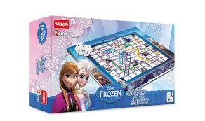 buy funskool disney frozen ludo game multi color