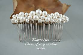 pearl hair accessories bridal comb pearl hair accessories wedding hair