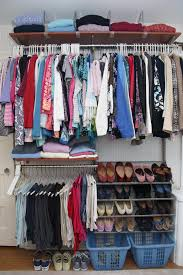 pics of organized closets