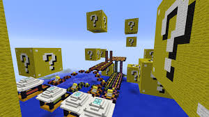 Race Map Lucky Block Race Map Maps Mapping And Modding Java Edition