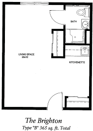 efficiency apartment floor plans studio loft apartments