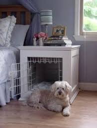Diy End Table Dog Crate by Beautify Your Dog U0027s Crate With This Simple Table Build Pet Pet